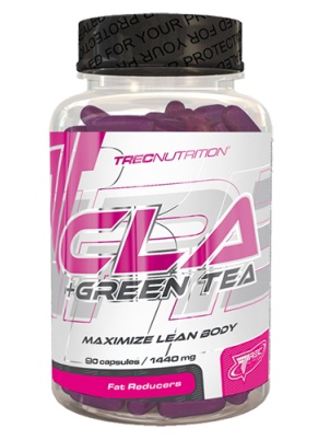 Trec Nutrition CLA + Green Tea 90 капсул