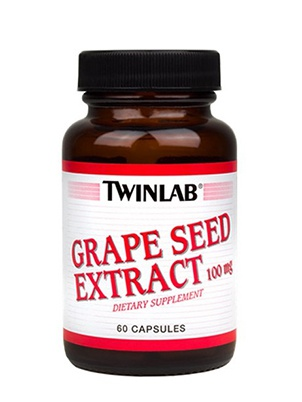 TwinLab Grape Seed Extract 100 мг 60 капсул