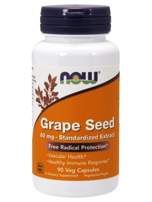 NOW Foods Grape Seed Extract 90 капс.
