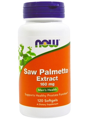 NOW Foods Saw Palmetto Extract 160mg 120 капс.