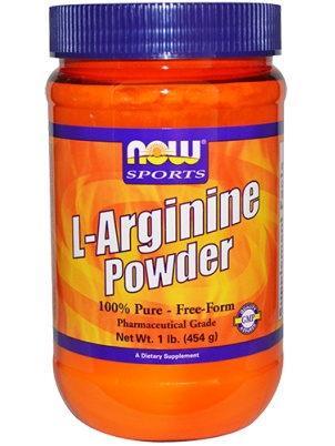 NOW L-Arginine powder 454 гр.