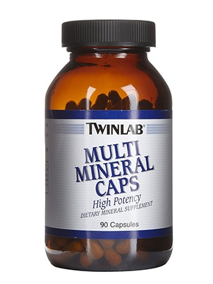 TwinLab MULTI MINERAL CAPS 180 капсул