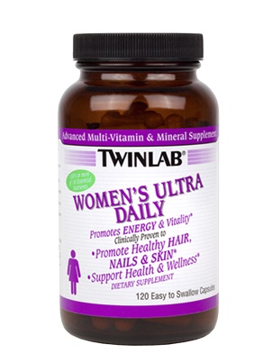 TwinLab Womens Ultra Multi Daily 120 cap 120 капсул