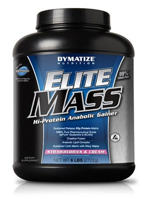 Dymatize Nutrition Elite Mass 2722 г