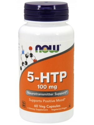 NOW Foods 5-HTP 100mg 60 капс.