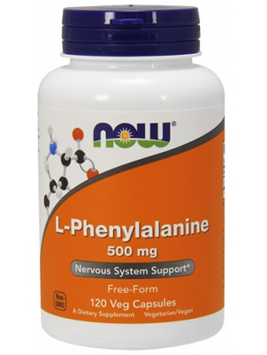 NOW Foods L-Phenylalanine 500mg 120 cap 120 капс.