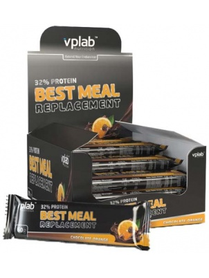 VP  Laboratory 32% Best Meal Replacement Bar Box 20 x 60g 20 шт