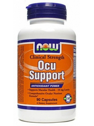 NOW Foods Clinical Ocu Support  90 капсул