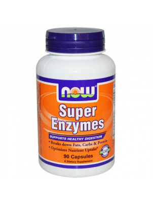 NOW Foods Super Enzymes 180 cap 180 капсул