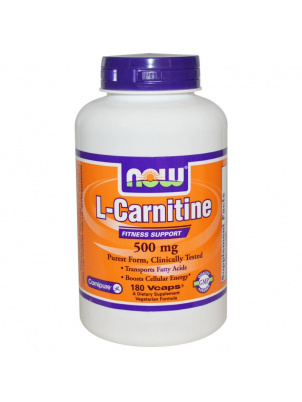 NOW L-Carnitine 500mg 180 капс