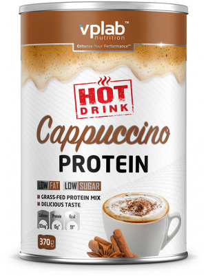 VP  Laboratory Hot Cappuccino Protein 370g 370 г