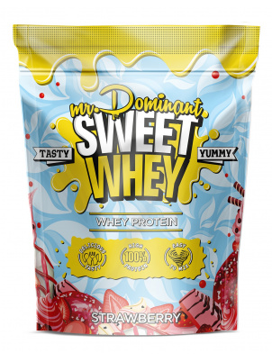 Mr. Dominant Sweet Whey 900g 900 г