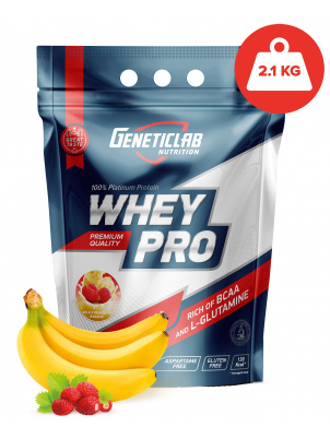 Geneticlab Whey Pro 2100g 2100 г