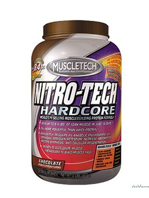 Muscletech Nitro-Tech Hardcore 1800 г
