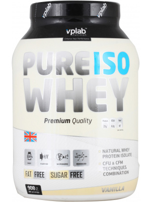 VP  Laboratory Pure Iso Whey 908g 908 г