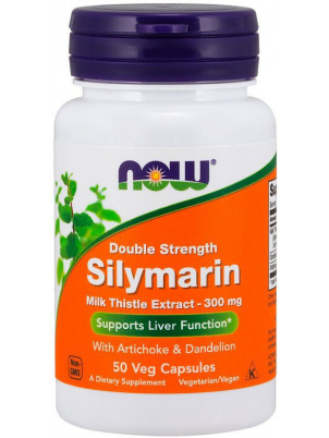 NOW Foods Silymarin  300mg 50 vcap 50 капс