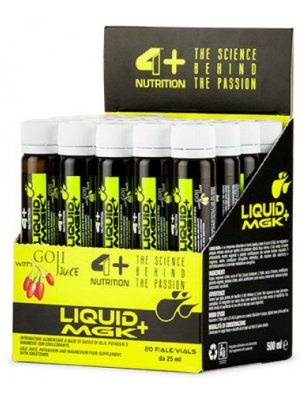 4+ Nutrition LIQUID MGK+  20amp x 25ml 20 ампул
