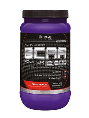 Ultimate Nutrition Flavored BCAA Powder 457 г