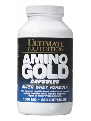 Ultimate Nutrition Amino Gold Capsules 1000 мг 250 капсул