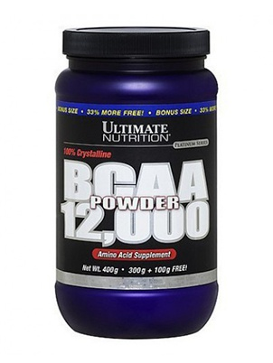 Ultimate Nutrition BCAA Powder 400 г