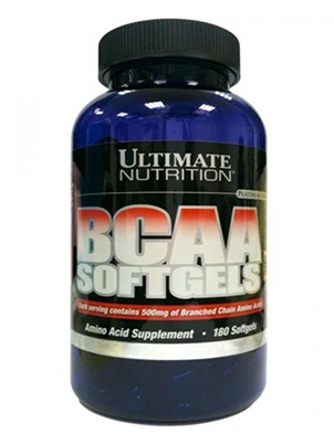 Ultimate Nutrition BCAA Softgels 180 капсул