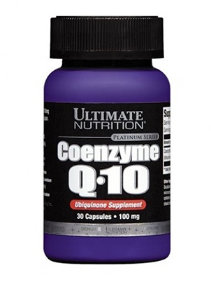 Ultimate Nutrition Coenzyme Q-10 30 капсул