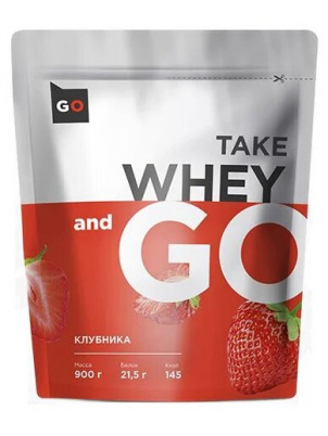 Take and Go Whey 900g 900 г