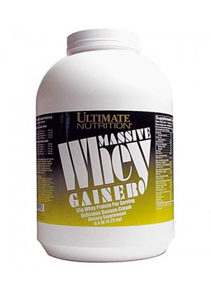 Ultimate Nutrition Massive Whey Gainer 4250 г