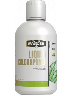 Maxler Liquid Chlorophyll Vegan Product 450ml Natural Mint 450 мл