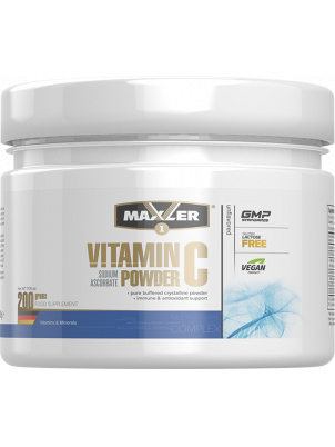 Maxler Vitamin C Sodium Ascorbate Powder 200g 200 г