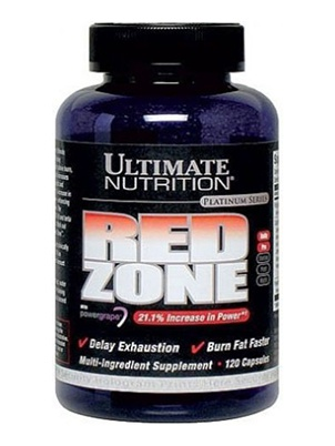 Ultimate Nutrition Red  Zone 120 капсул