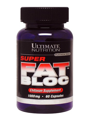Ultimate Nutrition Super Fat Bloc 60 капсул
