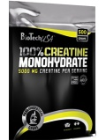 BioTech 100% Creatine Monohydrate bag