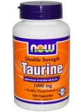 NOW Double Strength Taurine 1000mg