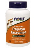 NOW Papaya Enzyme Chewable